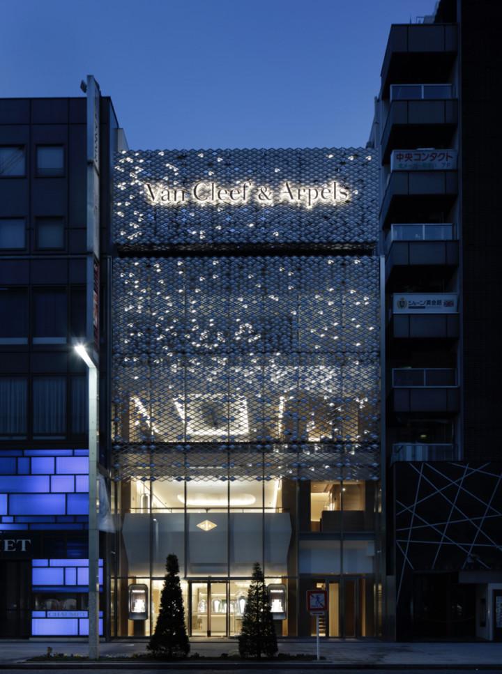 VAN CLEEF & ARPELS flagship. Tokyo. JOUIN MANKU